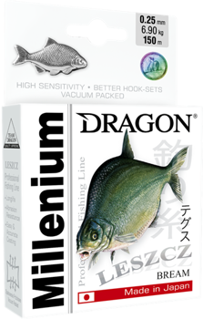Dragon Mono Millenium Bream 0.16mm-3.80kg-200m
