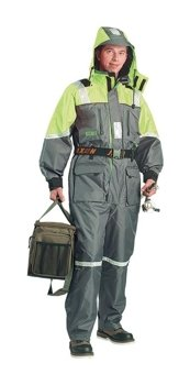 DAM Steelpower Flotation Suit (2 pcs.) - M