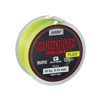 Jaxon Monolith Excellence Fluo Braided Line - 0,10mm / 125m