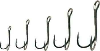 Owner Treble Hooks Sdn31bc - 8 - 6x - Black