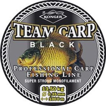 Żyłka Konger Team Carp Black 0.28mm-600m-10,00kg