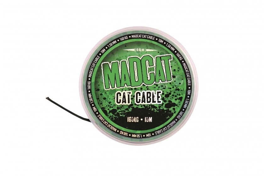DAM - MAD Carp Mono D-Fender Titanium Green 1200m / 0,34mm / 6,8kg