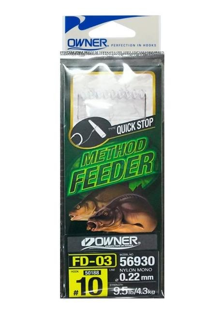Owner Przypon Method Feeder - 6 / 0,22mm / 6x