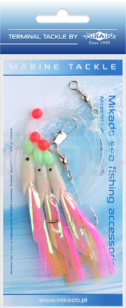 Mikado Set Sea - Hokkai Rig - Hook 3/0