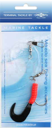 Mikado Set Sea - Pilk Twist Rig 5.5cm - Hook 4/0 (Red / Black)