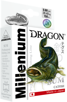 Dragon Mono Millenium Wels 0.40mm-14.20kg-300m