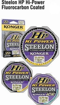 Konger Żyłka Hi Power Fluorocarbon Coated Ice 0,10mm-50m
