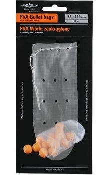 Mikado PVA Bags Rounded Closing And Holes 65 X 190mm - 10pcs