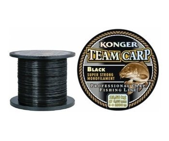 Żyłka Konger Team Carp Black 0.25mm-600m-8,0kg