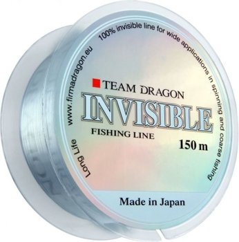 Żyłka TEAM Dragon INVISIBLE  150m - 0.35mm/12.30kg - bezbarwna