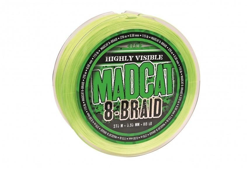 DAM CROSSPOWER 4-BRAID 0.10mm-4.5kg-110m - Green