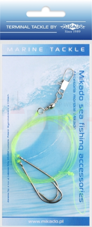 Mikado Set Sea - Simple Boom Rig 0.60mm - Hook 3/0