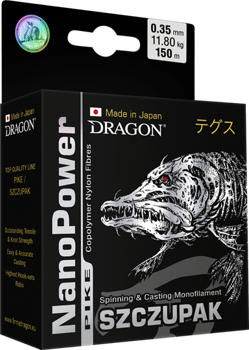 Dragon Żyłka NanoPOWER PIKE 0.20mm-4.75kg-150m