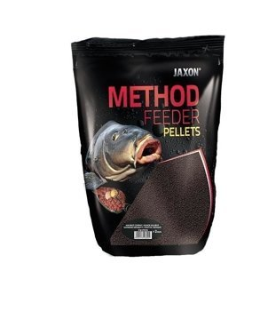 Jaxon Pellet Do Metody Halibut Czarny - 500g - 2mm