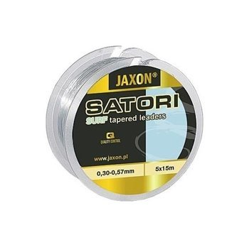 Jaxon Satori Surf Tapered Leaders 0,30-0,57mm / 5x15m