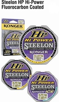 Konger Żyłka Hi Power Fluorocarbon Coated 0,14mm-150m-3,60kg