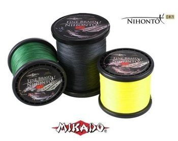 Mikado Plecionka Nihonto Fine Braid 0.10mm-3000m-Yellow